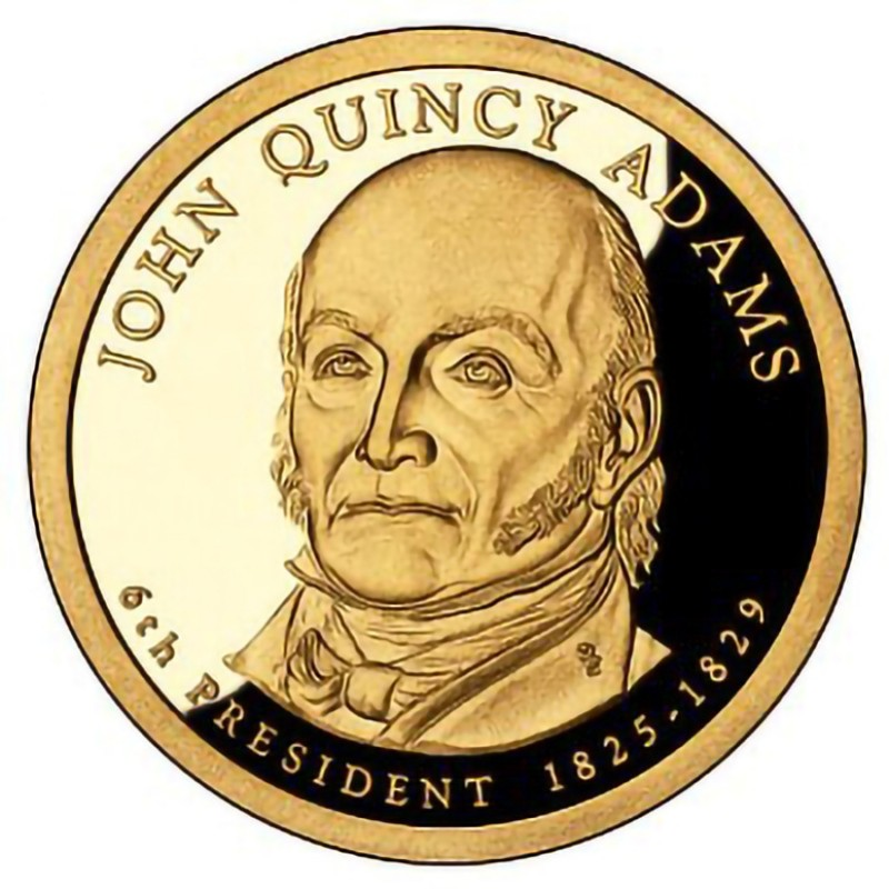 2008-S John Quincy Presidential Dollar