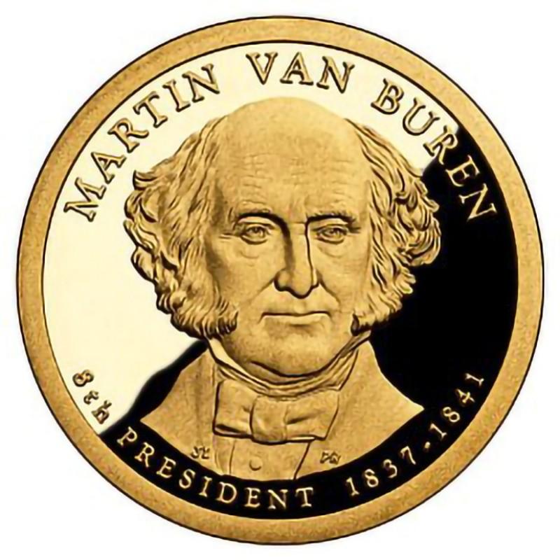 2008-S Martin Van Buren Presidential Dollar