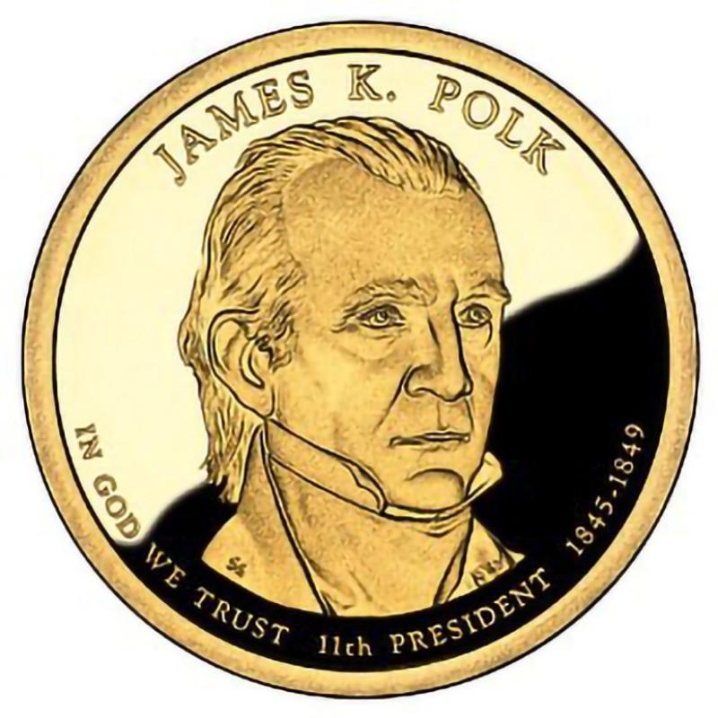 2009-S James K Polk Presidential Dollar