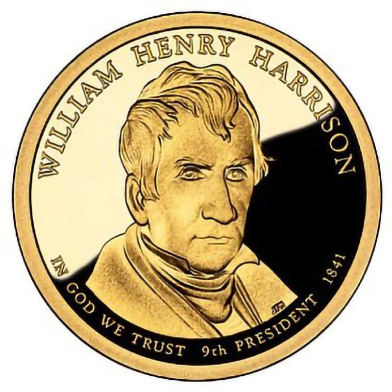 2009-S William Henry Harrison Presidential Dollar