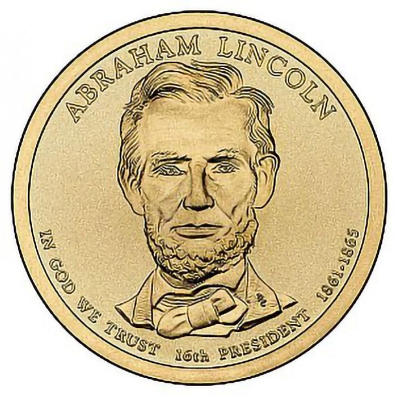 2010-D Abraham Lincoln Presidential Dollar