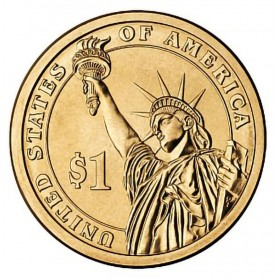 2010-D Franklin Pierce Presidential Dollar