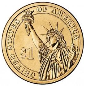 2010-D Millard Fillmore Presidential Dollar