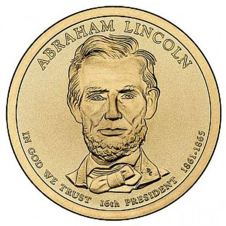 2010-P Abraham Lincoln Presidential Dollar