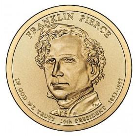 2010-P Franklin Pierce Presidential Dollar