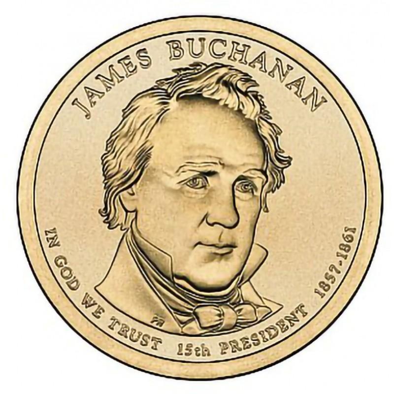 2010-P James Buchanan Presidential Dollar