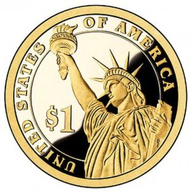 2010-S Franklin Pierce Presidential Dollar
