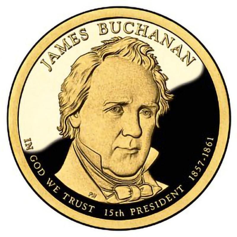 2010-S James Buchanan Presidential Dollar