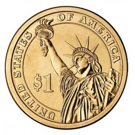 2011-D James A Garfield Presidential Dollar