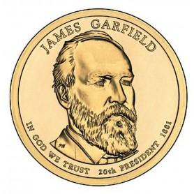 2011-P James A Garfield Presidential Dollar