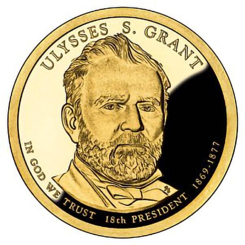 2011-S Ulysses S Grant Presidential Dollar