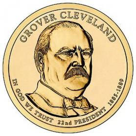 2012-D Grover Cleveland 1st Term Presidential Dollar
