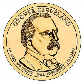 2012-D Grover Cleveland 2nd Term Presidential Dollar