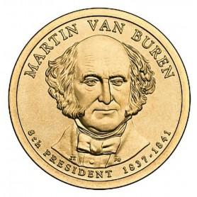 2008-P Martin Van Buren Presidential Dollar