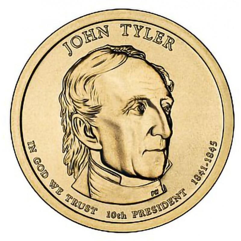 2009-D John Tyler Presidential Dollar
