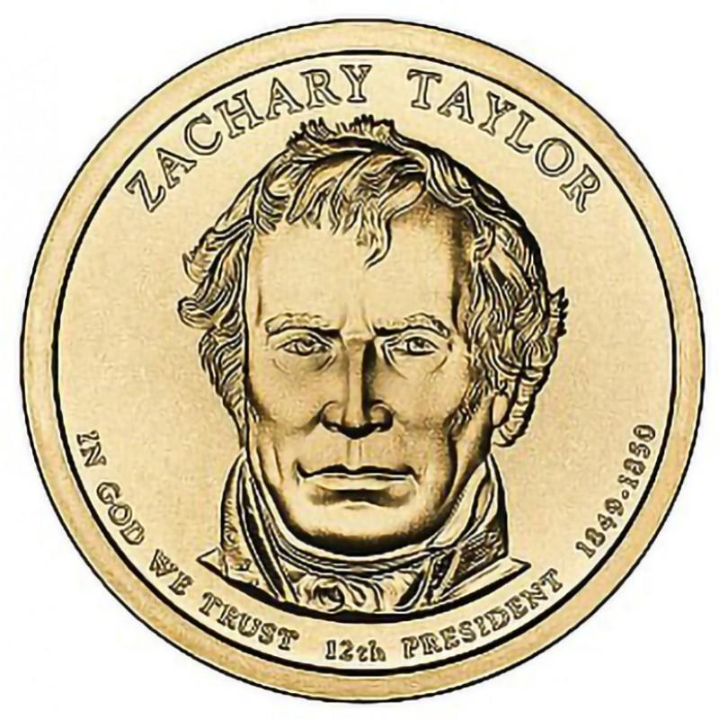 2009-D Zachary Taylor Presidential Dollar