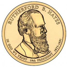 2011-D Rutherford B Hayes Presidential Dollar