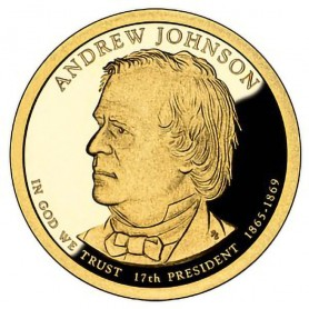 2011-S Andrew Johnson Presidential Dollar