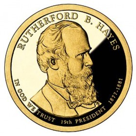 2011-S Rutherford B Hayes Presidential Dollar