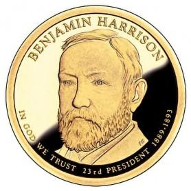 2012-S Benjamin Harrison Presidential Dollar