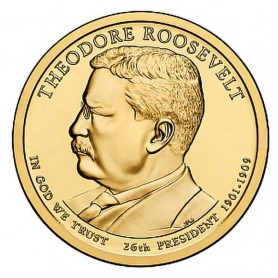 2013-P Theodore Roosevelt Presidential Dollar