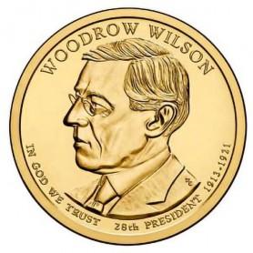 2013-P Woodrow Wilson Presidential Dollar