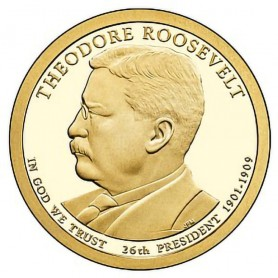 2013-S Theodore Roosevelt Presidential Dollar