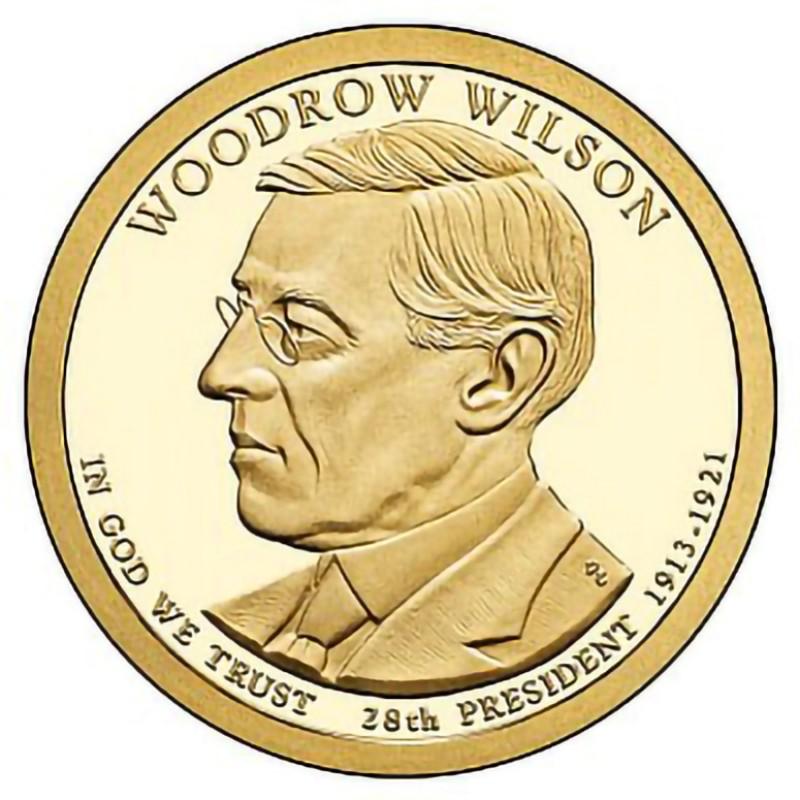 2013-S Woodrow Wilson Presidential Dollar