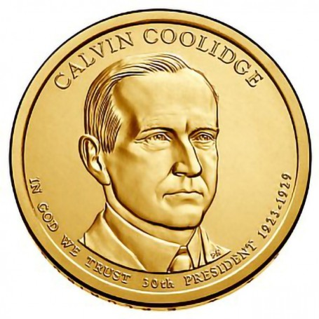 2014-D Calvin Coolidge Presidential Dollar