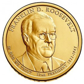 2014-P Franklin D Roosevelt Presidential Dollar