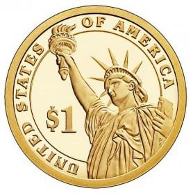 2014-S Franklin D Roosevelt Presidential Dollar