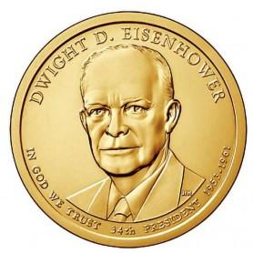 2015-D Dwight D Eisenhower Presidential Dollar
