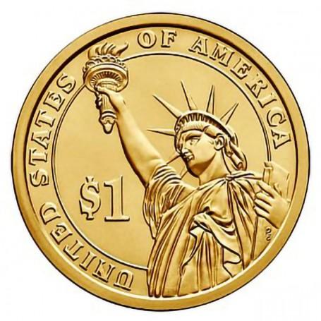 2015-P John F Kennedy Presidential Dollar