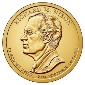 2016-D Richard Nixon Presidential Dollar