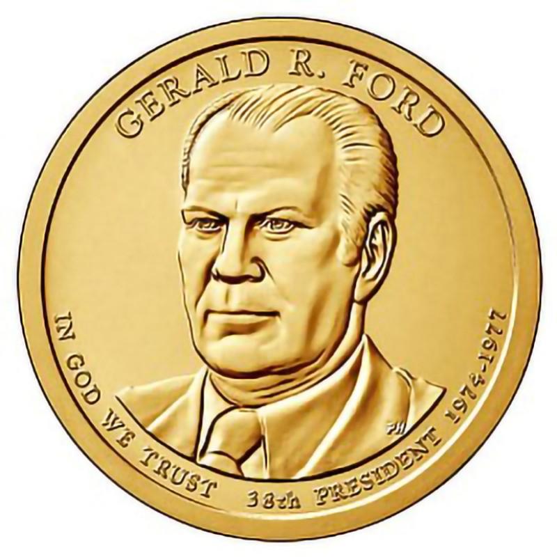 2016-P Gerald Ford Presidential Dollar