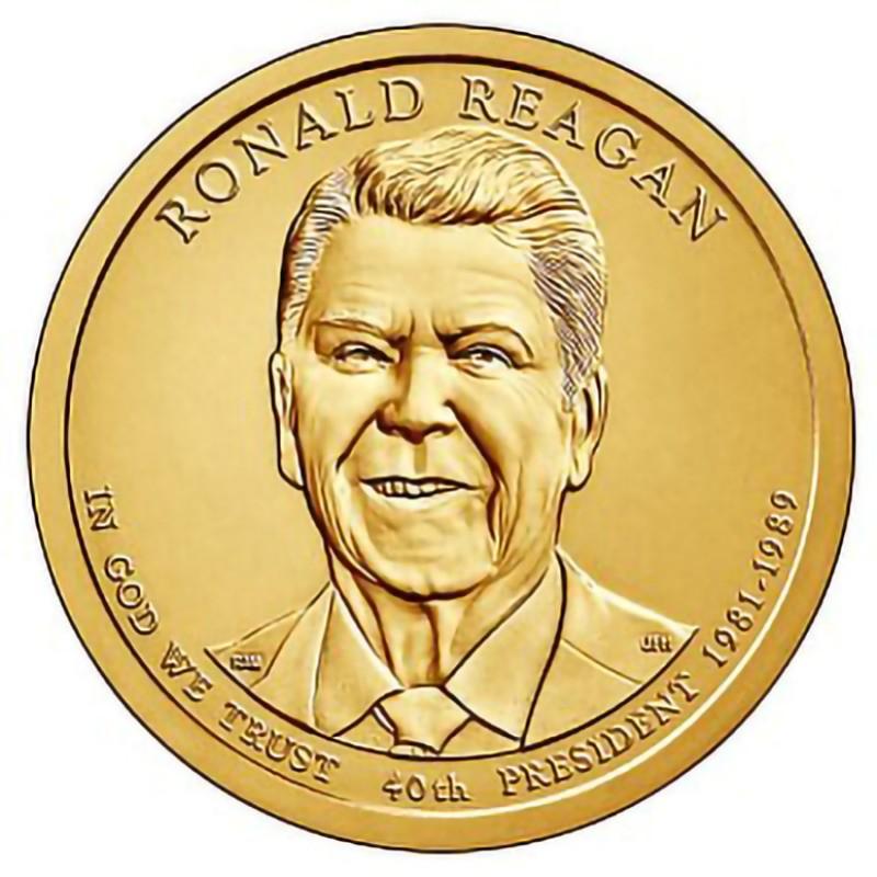 2016-P Ronald Reagan Presidential Dollar