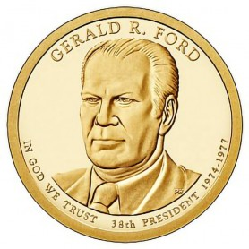 2016-S Gerald Ford Presidential Dollar