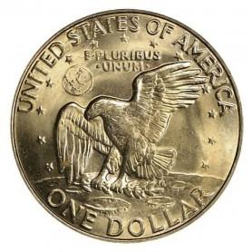 1972-D Eisenhower Dollar