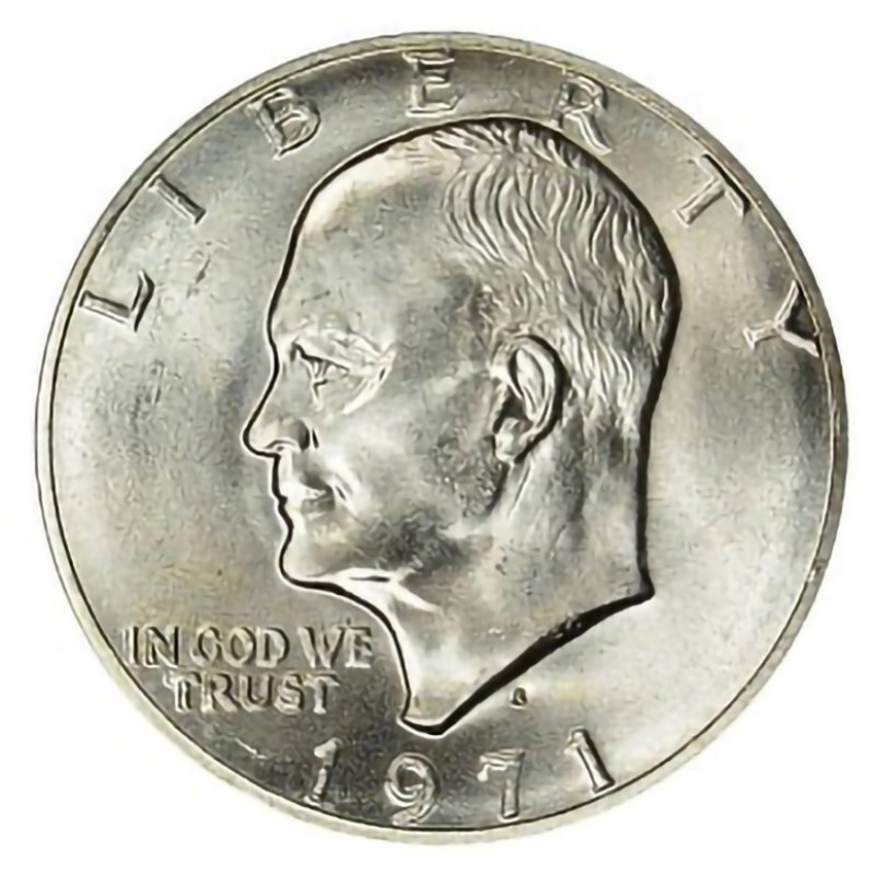 1971-P Eisenhower Dollar