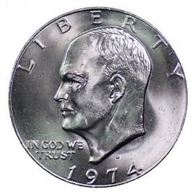 1974-D Eisenhower Dollar