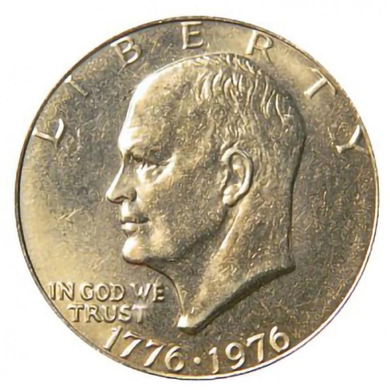 1976-P Type 1 Eisenhower Dollar