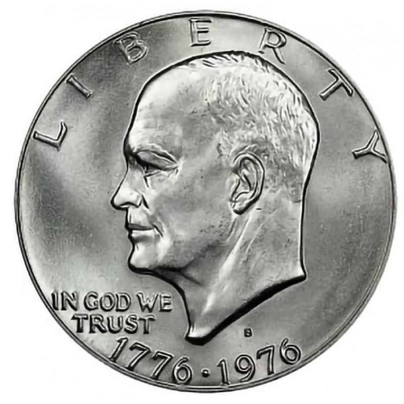 1976-S Eisenhower Dollar 40% Silver