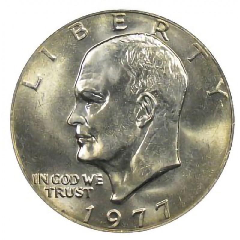 1977-P Eisenhower Dollar
