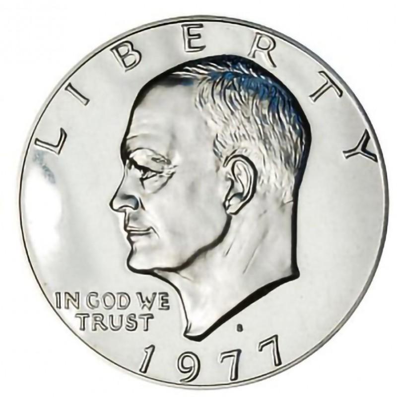 1977-S Eisenhower Dollar CN-CLAD