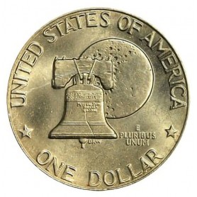 1976-D Type 2 Eisenhower Dollar