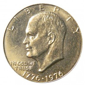 1976-P Type 2 Eisenhower Dollar