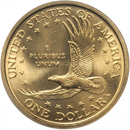 2000 P Sacagawea Native American Golden Dollar Coin