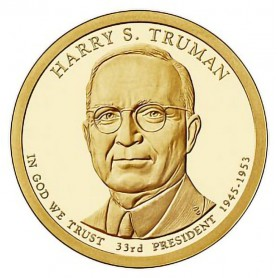2015-S Harry S Truman Presidential Dollar