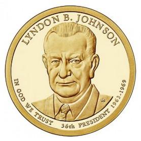 2015-S Lyndon B Johnson Presidential Dollar