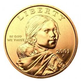 2001-P Sacagawea Dollar